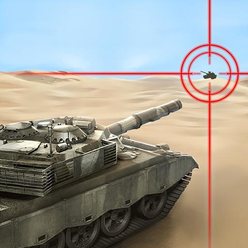 War Machines: Free Multiplayer Tank Shooting Games Icon