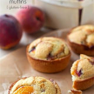 Peach Cake Muffins