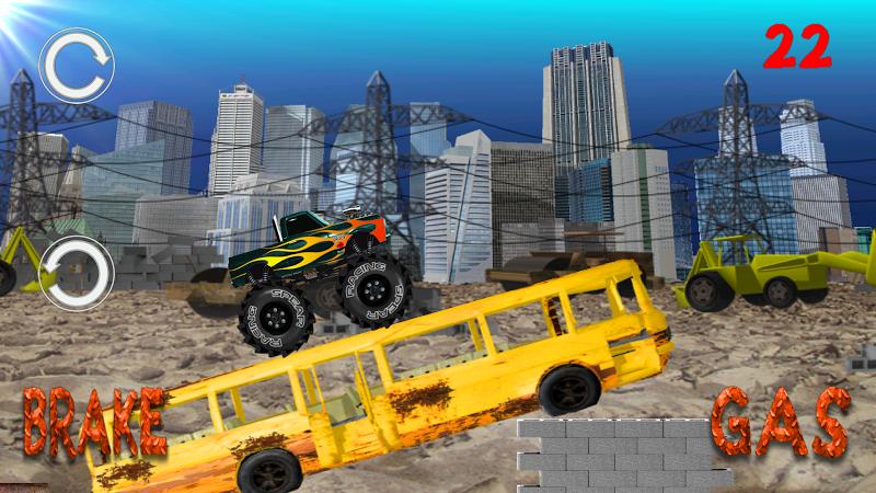 Скриншот Monster Truck Junkyard 2