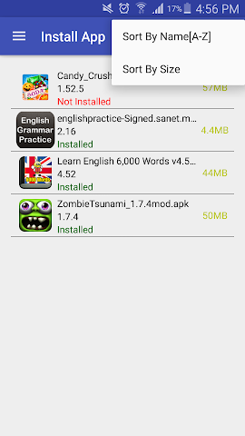 android App Manager Screenshot 3