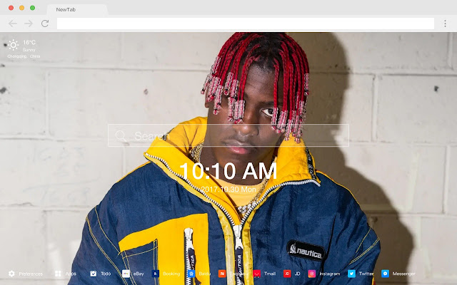 Lil Yachty New Tab Page HD Wallpapers Themes
