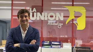 Javier Carmona en las instalaciones de La Unión Corp.