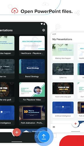 Zoho Show - Presentation Tool & Slideshow creator 2.3.73 screenshots 1