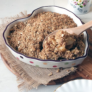 Bramley Apple Crumble Recipe
