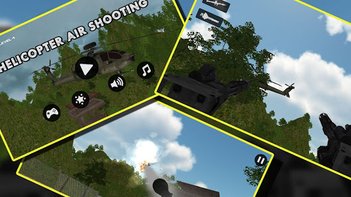 武装直升机 炮手 枪 空气 射击: Gunship War