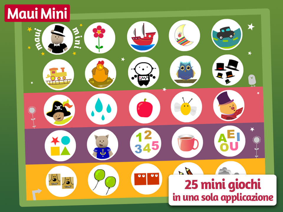 Maui Mini Giochi Educativi- screenshot