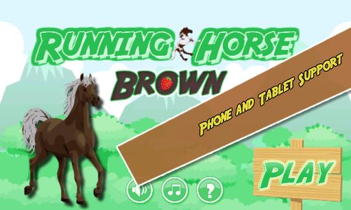 Running Horse Brown