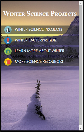 Winter Science Projects