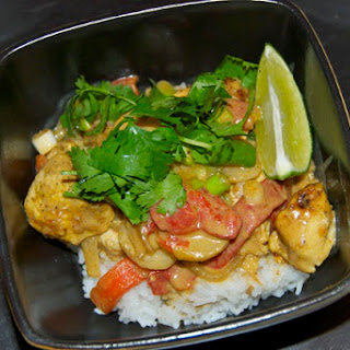 Coconut Curry Thai Chicken Recipe