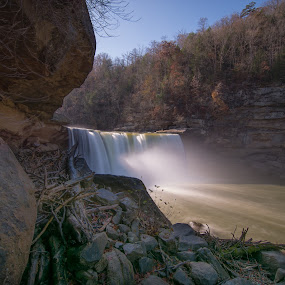 Falls by Bob White - Landscapes Waterscapes ( waterfall river longexposure love photography,  )