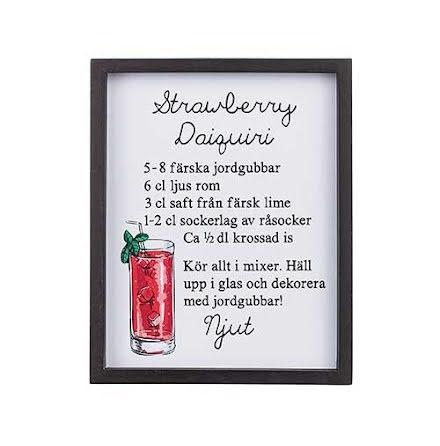 "Tavla ""Strawberry Daiquiri"""