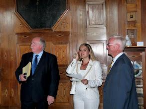 Photo: Regierungspräsident Wilhelm Wenning und Staatsekretärin Melanie Huml (von links)