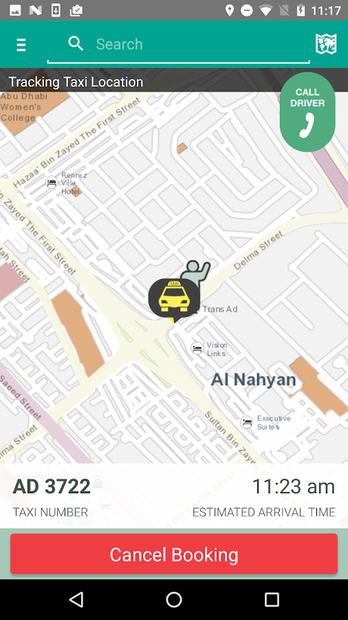 Abu Dhabi Taxi- screenshot