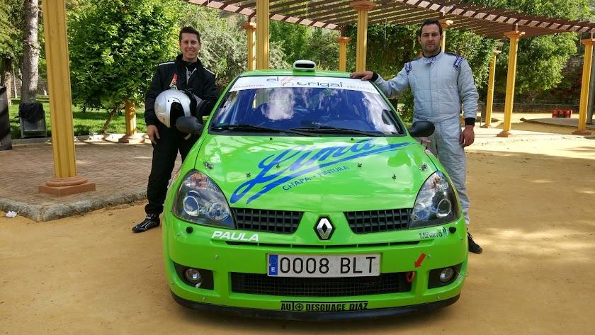 """Antonio Molina y A. Castillejo, ganan el Rallye Crono """"Villa de Nueva Cartaya"""