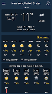 Weather Forecast APK image thumbnail 5