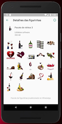 Figurinhas de vinho - WhatsApp WAStickerApps APK screenshot thumbnail 8