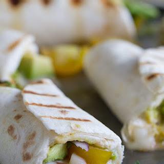 Grilled Guacamole Stuffed Tortillas Recipe