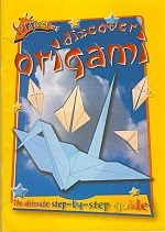 Photo: Discover Origami (funpacks) Stephen, Diane; Rogers, Lucy Publisher: Peter Haddock paperback 32 pp, A4 ISBN 0710514077