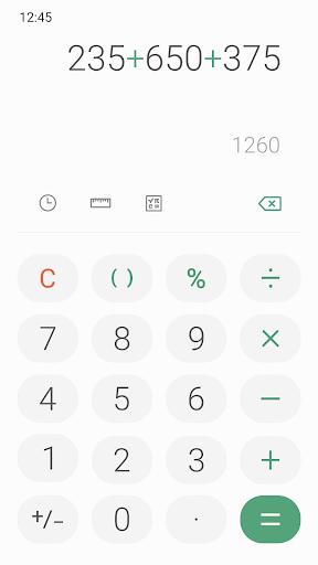 Samsung Calculator 6.0.63.9 screenshots 4