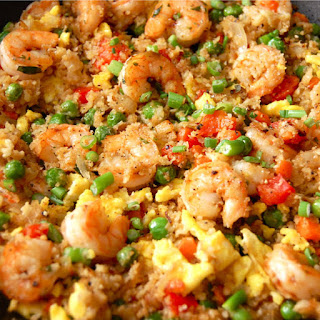 "Paleo Shrimp Fried ""Rice"""