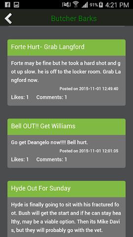 android My Fantasy Football Guru '15 Screenshot 4