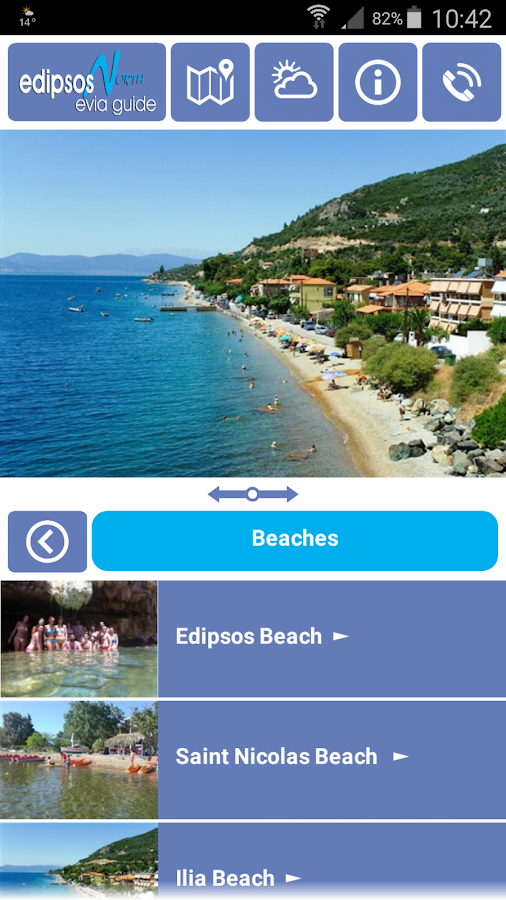 Edipsos North Evia- screenshot