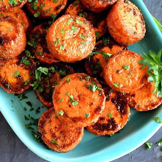 Roasted Jumbo Carrots Recipe