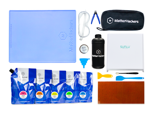 From tools to materials, MatterHackers' Essential Resin 3D Printing Accessories Bundle is choc-full of items you're guaranteed to use in your journey to convenient, successful SLA digital fabrication.