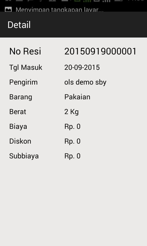 Data Barang ESB- screenshot