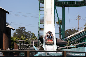 Photo: (Year 3) Day 25 - Rog and Edward on the Log Flume #4