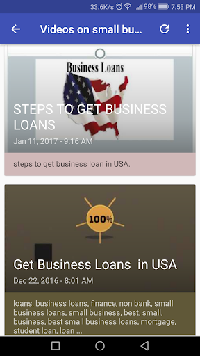 Small Business Loans screenshot 5