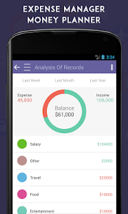 Expense Manager Money Planner- screenshot thumbnail