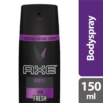Desodorante AXE   BodySpray Excite x150Ml