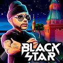 Black Star Runner icon