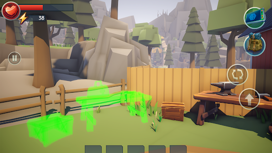 Tegra: Crafting and Building Survival Shooter Screenshot