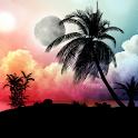 Tropical Night Live Wallpaper icon