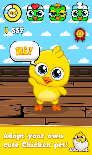My Chicken - Virtual Pet Game - screenshot