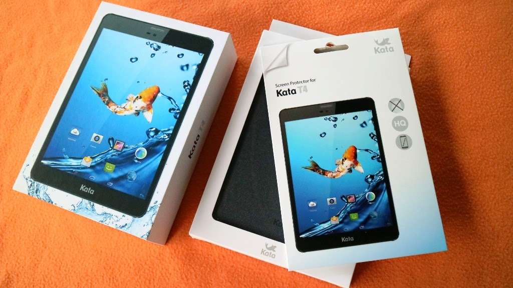KATA T4 TABLET WITH FLIP COVER AND SCREEN PROTECTOR (FREE DURING PRE-ORDER)