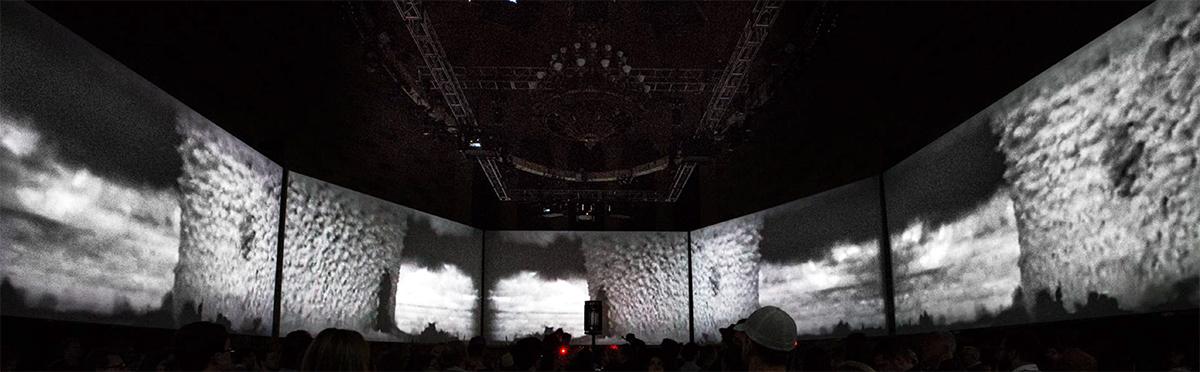 Multimedia presentation of the bomb