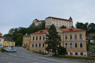 Photo: Widok na pałac z dołu.