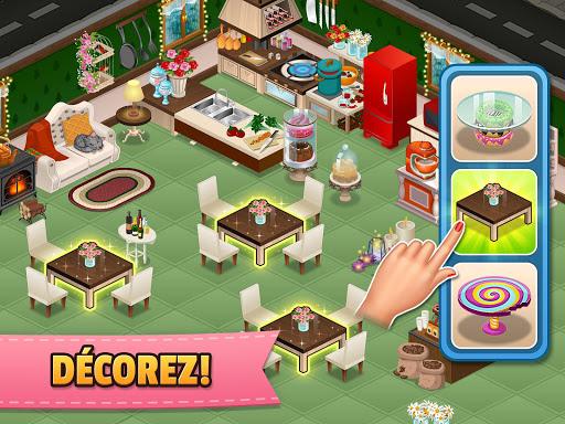 Télécharger Cafeland - Jeu de Restauration APK MOD (Astuce) screenshots 2