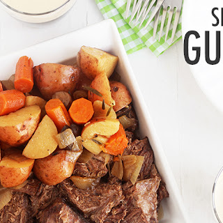 Slow Cooker Guinness Pot Roast