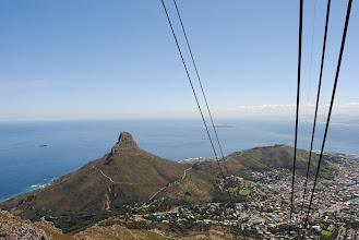 Photo: la teleferica per Table Mountain
