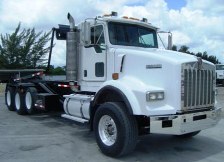 Photo: Kenworth T800 Roll Off Truck