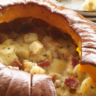 Pumpkin Stuffed with Everything Good.