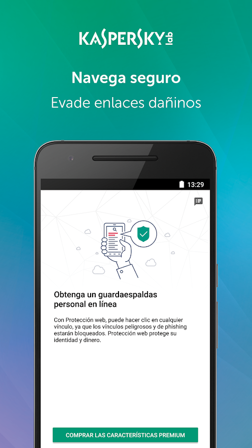 Kaspersky Mobile Antivirus: Web Security & AppLock: captura de pantalla