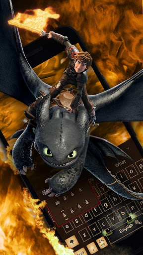 How to Train Your Dragon Adventure Keyboard Theme photos 2