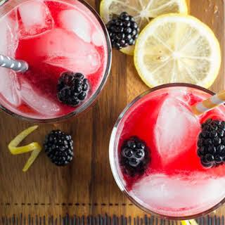 Fresh Squeezed Blackberry Lemonade.