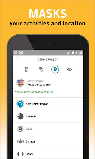 Norton WiFi Privacy Secure VPN Screenshot