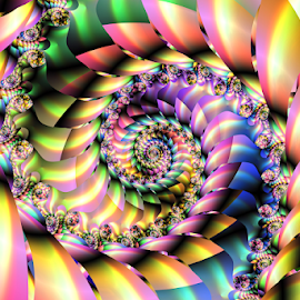 Spiral 81 by Cassy 67 - Illustration Abstract & Patterns